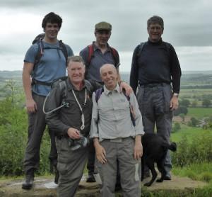 Grand Combin team trek