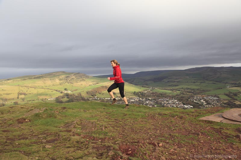 Training on Eccles Pike