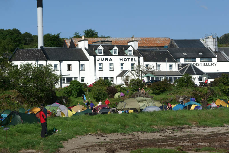 The Tent Village – Photo Credit Mike Hutton