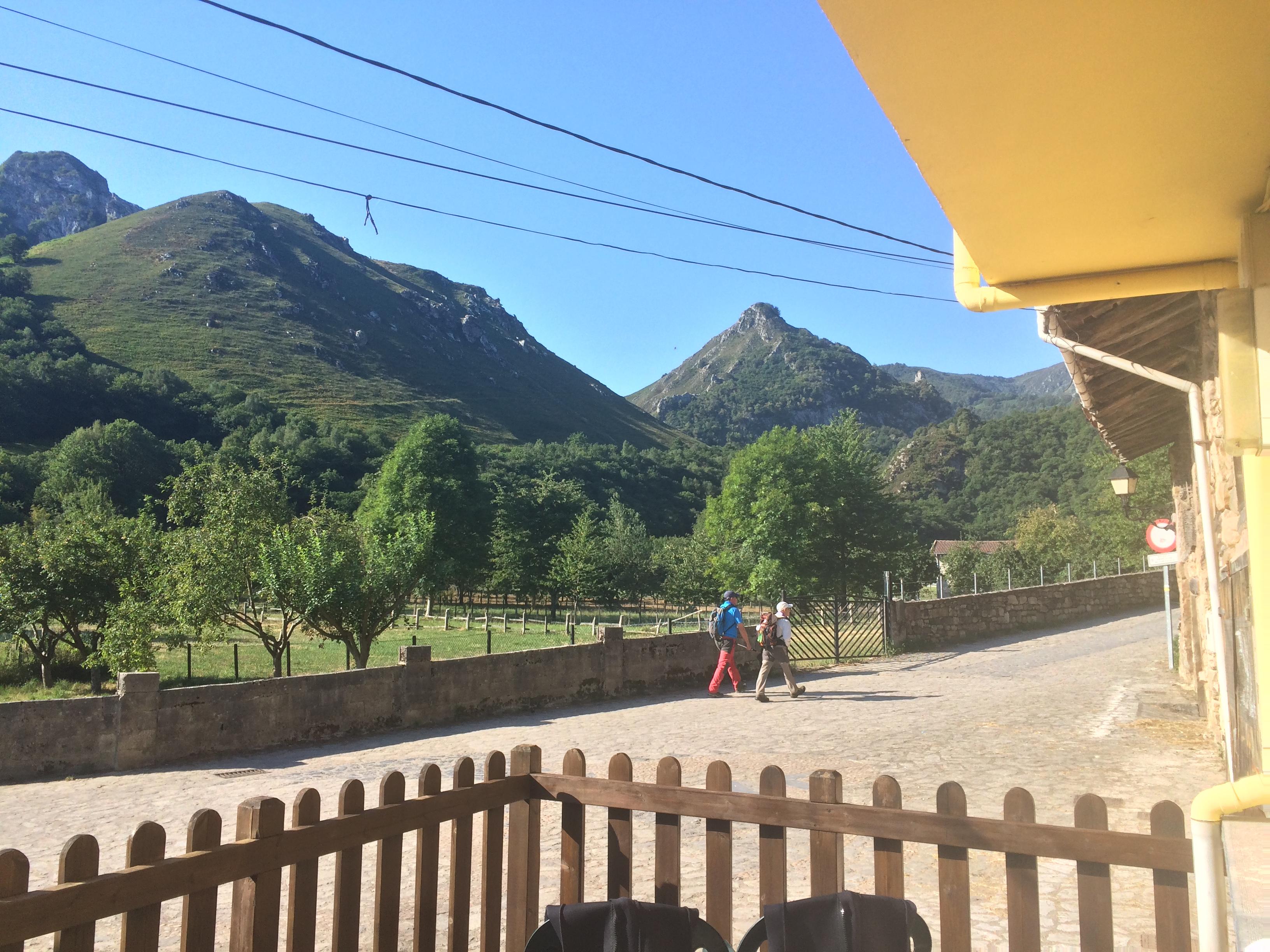 A landscape view of Sobrescobio