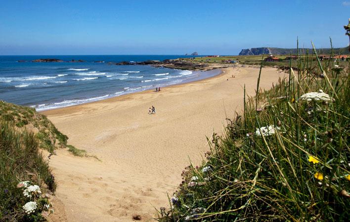 Beach day at Playa Verdicio