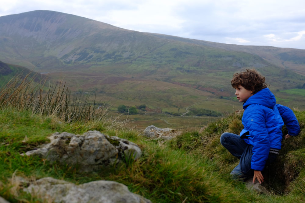 Adventures with Hunter - Visiting Snowdonia