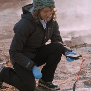 Astrobiologist Dr Louisa Preston - Craghoppers Ambassador