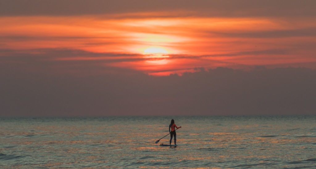 Lizzie Carr - first female to cross the channel Stand up Paddle Board