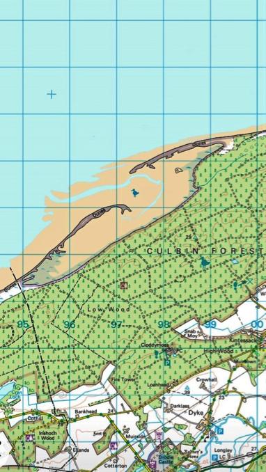 The Bar to Culbin map