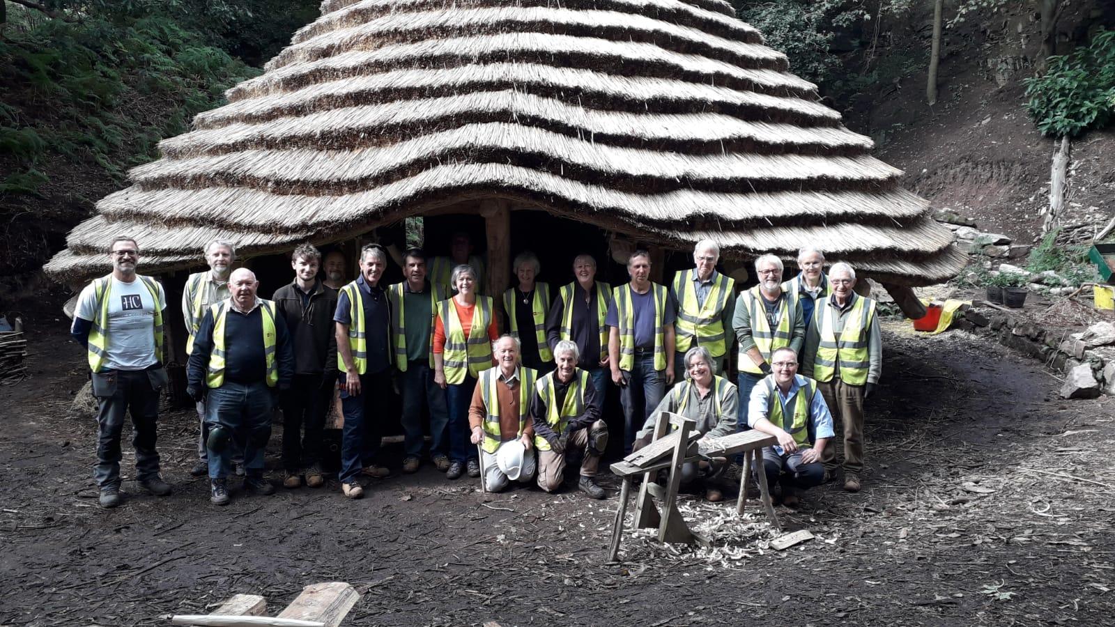 English Heritage volunteers